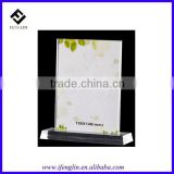 clear plastic restaurant menu cover