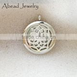 Aromatherapy diffuser locket necklace chakra jewelry