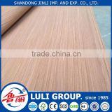 LULI GROUP 0.3*1220*2440mm recon veneer, recon gurjan/black walnut face veneer