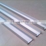China industrial aluminum profile free samples aluminum profile,U shape aluminum extruded profile channel