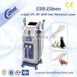Skin Care E9S Tattoo Removal Hair Breast Lifting Up Removal IPL Elight Laser Device Bikini Hair Removal