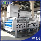 Stainless steel durable belt filter press