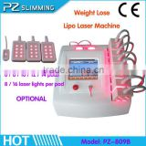 laser Non Invasive painless Cellulite Loss lipo laser machine for fat removal fat reduction weight loss in home / beauty salon