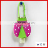 Animal 3D cute design bath and body works silicone hand sanitizer holder