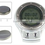 6 In1 Multifunction digital Compass thermometer time Barometer Altimeter Outdoor