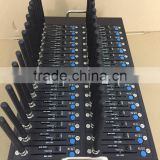 New Bulk SMS Gsm modem 32 ports 32 sims with free SMS software USSD STK IMEI changeable modem pool
