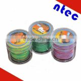 Any color braided fishing line , pe braid fishing line high strength