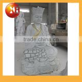 Hand carved paintings of buddha faces statue for garden decoration