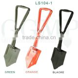 Classical Standard 58cm UK USA Germany Russia Military Survival Emergency Folding Shovel with pickaxe saw punch