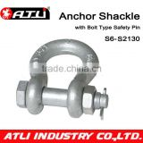 ATLI SKA-S6-S2130BX Factory Price Screw Pin Anchor Shackle/bow Shackle