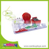 Assemble FM radio electronic building blocks easy science working models