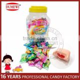 Assorted Fruit Flavors Center Filled Bubble Gum