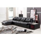 L.IMG_7526J-Black Fashion Modern Leather Sofa Sets L Shape Corner Sofa