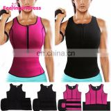 Shaping Abdomen Control Slimming Saunaweater Neoprene Vest Women Body Shaper