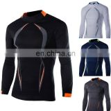 Blank men Rash guards / Men's Long Sleeves Rash Guard anti-UV
