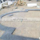 China blue stone coping for pool project