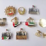 factory wholesale hot sale various UAE 46th national day gift item magnetic 7 sheikhs badge