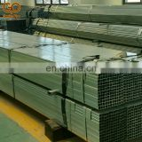 Factory hot sale 2.5 inch 40x80 Q235 pre galvanized square rectangular steel pipe
