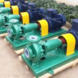 IHF high temperature resistant fluorine plastic liner centrifugal pump