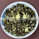 2015 famouse new jasmine green tea, natural jasmine green tea, jasmine flower flavor herbal tea
