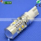 high quality t10 2323 10smd auto bulb led packing light reversing light backup light w5w