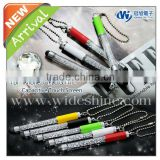 jewelled crystal bling pen with ball chain for smartphone promotional cheap gift screen touch pen promotional mini pen