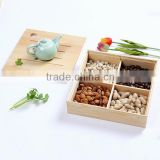 Custom small wooden boxes candy packing Nuts box