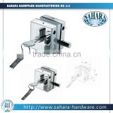 FT-55/2L sliding glass door lock without handle, double door slide lock, double door cabinet lock