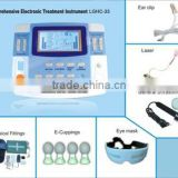 newly researched household e-therapy instrument with ultrasound,tens, laser,heating,e-cuppingLGHC-33