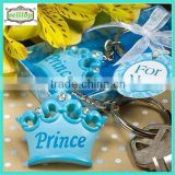 2014 cute metal keyring for boy baby shower