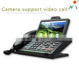 "7"" touch screen fancy IP telephone with Android system"