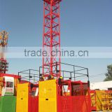 New Type 1000kg-2000kg SS100/100 Material Cargo Lift/Material Hoist/Construction Elevator With Safety Device