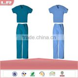 Wholesale OEM Hotsale Fashion Workwear Unisex Durable Scrub Set/Hospital uniform/Nurse Uniform