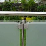 Stainless steel fence handrail post