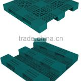 Titan 3 Runners EHV 1212 SS Large Plastic Pallet with Steel Reinforced for racking and warehouse