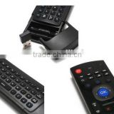 MX3 2.4G Wireless smart tv remote air mouse remote controller Keyboard mobile mouse remote S77Pro with IR Learning