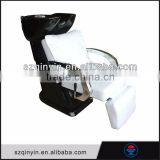 Hot promotional synthetic leather electric backwash shampoo units