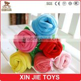 nice plush rose toy soft blue rose toy good quality stuffed rose toy