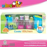 Non-toxic children toys kids kitchen set toy kitchen toy cooking tools