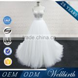 2015 Sexy Princess See Through White Wholesale Ball Gown Wedding Dresses                                                                                         Most Popular