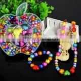 Mix Color Shining Crystal Pearl Jewelry Beads Set For Kids Crafts DIY Set
