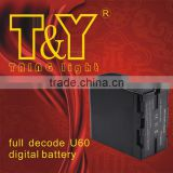 14.8v 5200mah 60US recognized video camera batteries