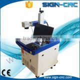 stainless steel ,alumium,black white plastic colorful laser marking MOPA fiber laser marking machine