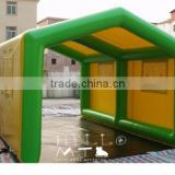 TOP quality customized inflatable tent with inflatable bottom, inflatable bubble tent for rent