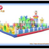 bouncy castle park, carton inflatable, high quality inflatable for kids