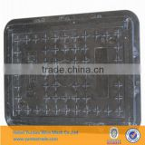 light square sewer drain cover/ EN124 A15 sealed manhole cover/grp sealing well lid