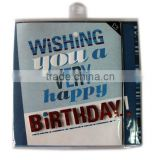 Hot sale 3D handmade birthday cards,greeting cards printing service
