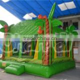 Palm tree inflatable bouncy castle, inflatable jumping castle for sale