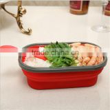 Square shape New design collapsible storage container, wholesale factory low MOQ collapsible storage container