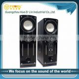 Factory prices of DJ Stage 2.0 Active Speakers With USB/SD/FM Radio Speaker For Computer wireless sound system